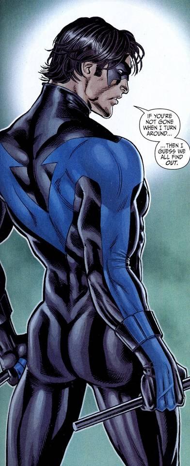 Nightwings butt by Nicola Scott