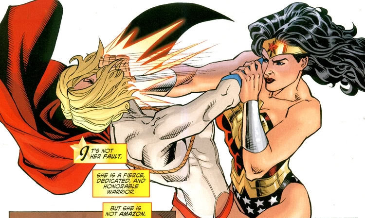 Powergirl And Wonder Woman