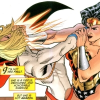 Power Girl v. Wonder Woman