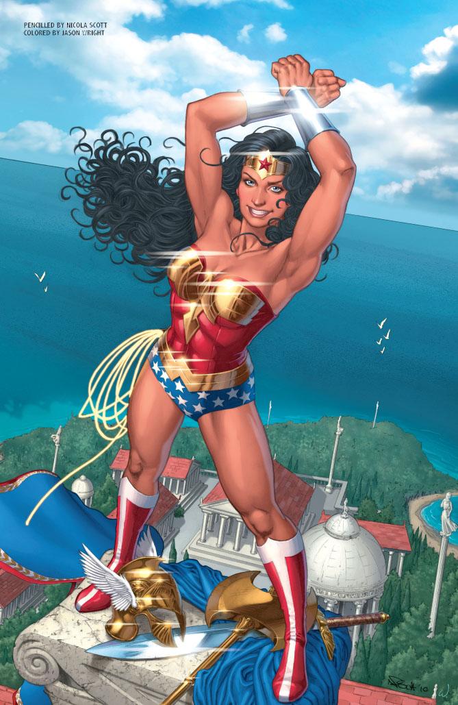 The Amazing Art of Wonder Woman#600