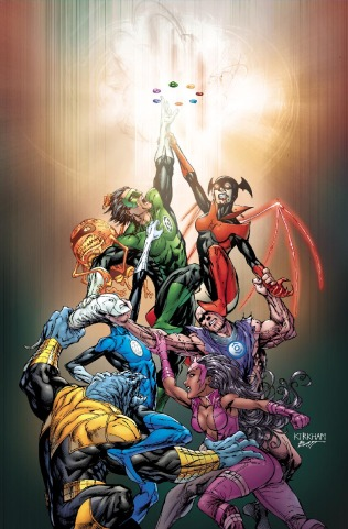GREEN LANTERN: NEW GUARDIANS #1