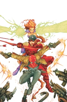 RED HOOD AND THE OUTLAWS #1