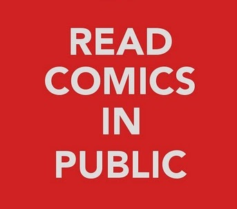 Reading Comics in Public: 2011Edition