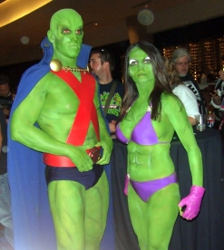 17 - Martian Manhunter at DragonCon 2011