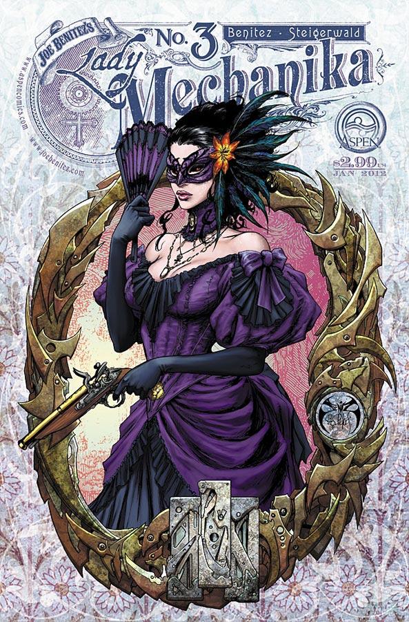 V. Reviews Lady Mechanika#3