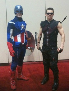 Captain America & Hawkeye