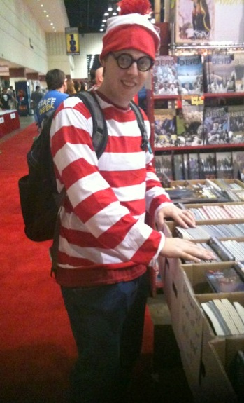 Waldo has been busy searching for an obscure back issue all this time.