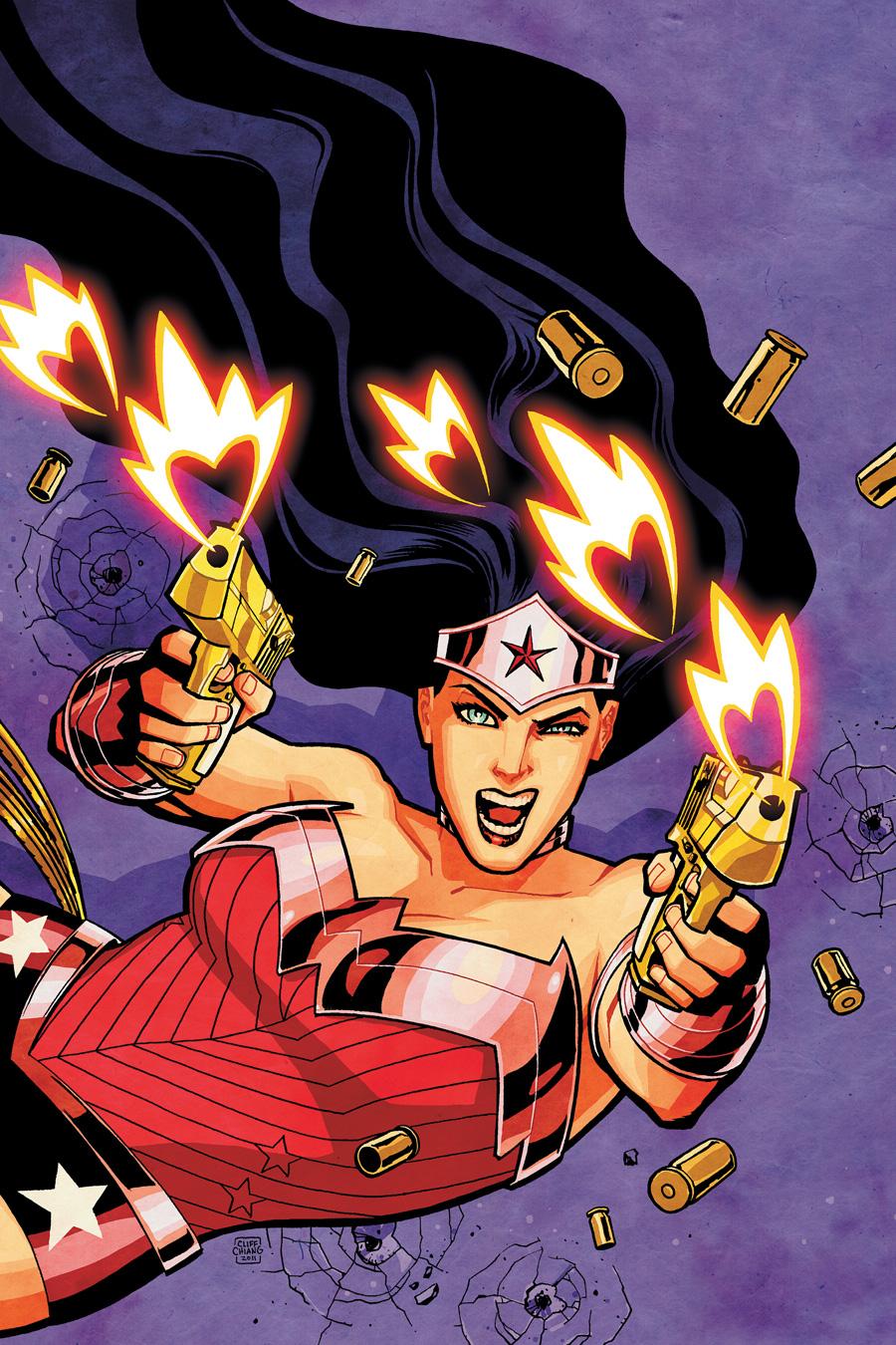 Thoughts on Azzarello's WonderWoman