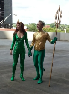 Aqua Man & Mera cosplay - DragonCon 2012