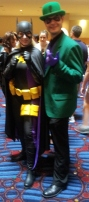 Batgirl Stephanie & Riddler cosplay - DragonCon 2012