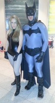 Batman & Black Canary cosplay - DragonCon 2012