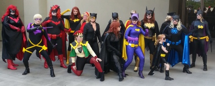 Batwoman Batgirl Catwoman & Ladies of Gotham cosplay - DragonCon 2012