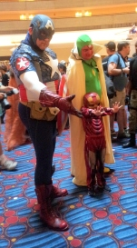 Captain America & Iron Man cosplay - DragonCon 2012