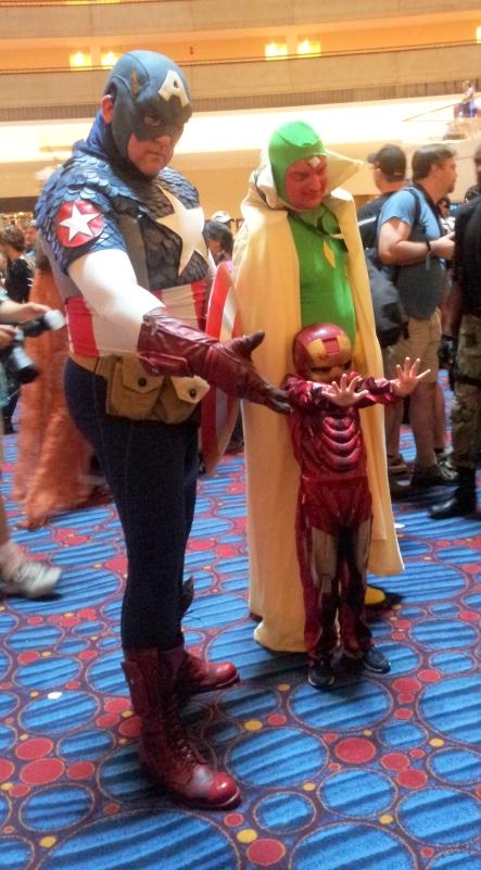 Captain America & Iron Man cosplay - DragonCon 2012