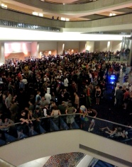 Cosplayers at the Marriott Marquis Atlanta