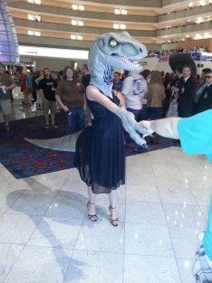 Dancing Dinosaur at DragonCon 2012
