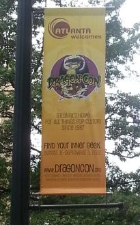 DragonCon 2012 street banner