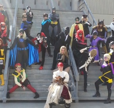 Gotham City 2 cosplay - DragonCon 2012