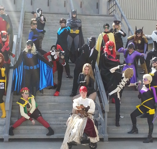 Gotham City 2 cosplay - DragonCon 2012