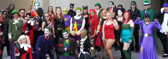 Gotham cosplay - DragonCon 2012