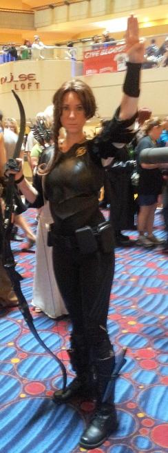 Katniss! *tear* for Rue.