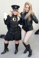 Lady Blackhawk & Black Canary - DragonCon 2012