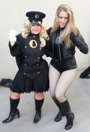 Lady Blackhawk & Black Canary - DragonCon 2012