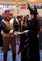 Maleficent cosplay - DragonCon 2012