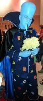 Mega Mind cosplay - DragonCon 2012