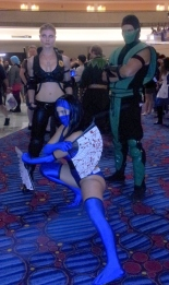 Mortal Kombat cosplay - DragonCon 2012