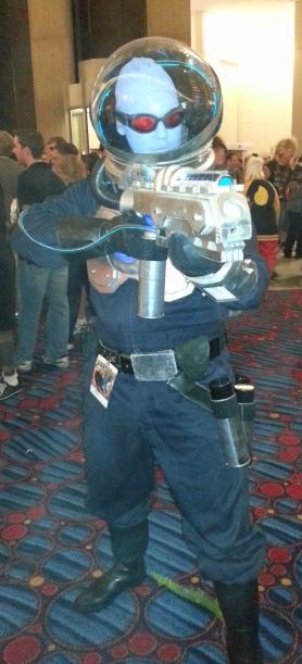 Mr. Freeze cosplay - DragonCon 2012