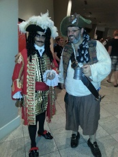 Pirate cosplay - DragonCon 2012