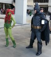 Poison Ivy & Batman cosplay - DragonCon 2012