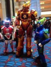 Robot cosplay - DragonCon 2012