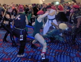 Street Fighter v. Mortal Kombat
