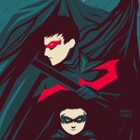 Batman, Nightwing and Robin