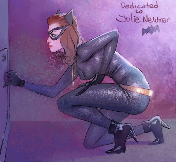 Catwoman by Pedro Figue
