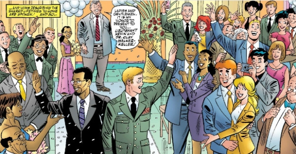 Kevin Keller's wedding
