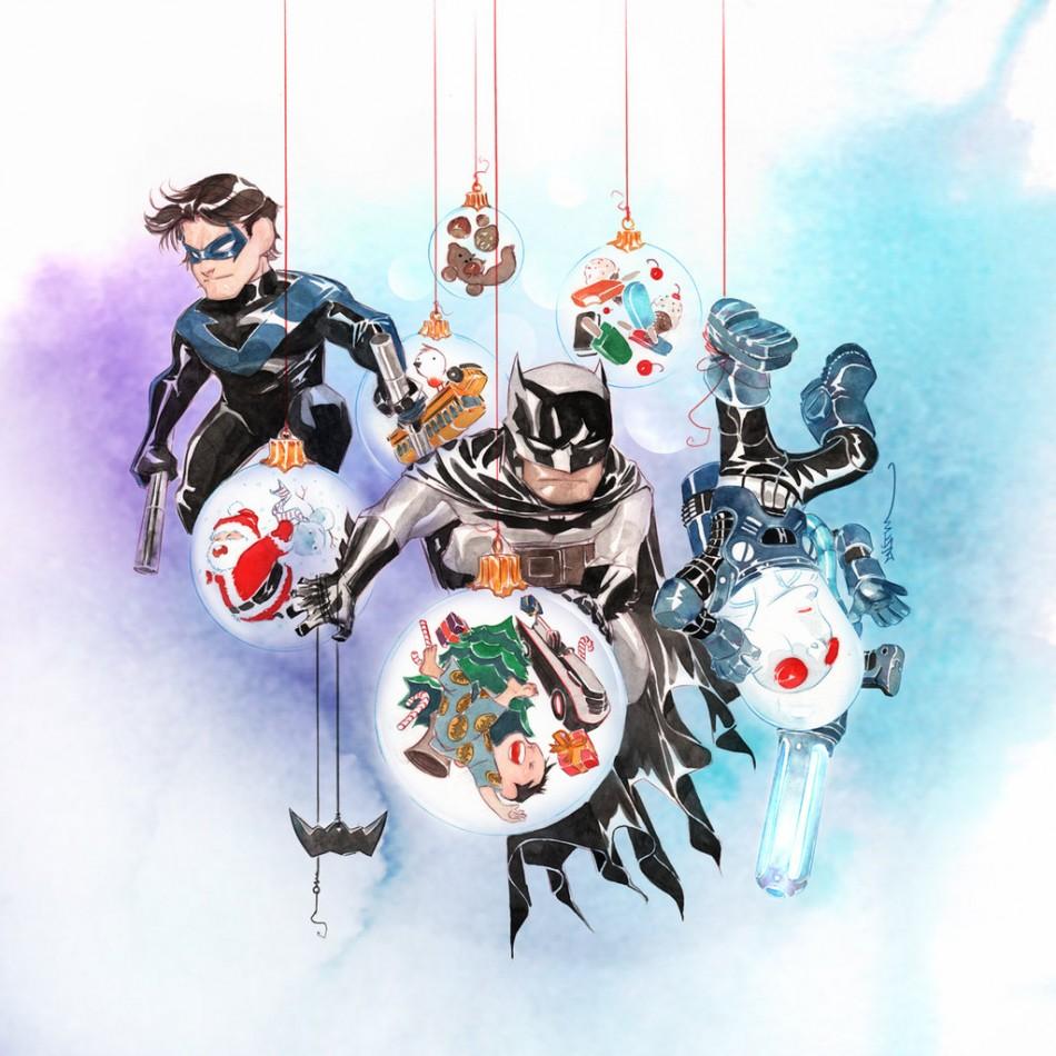 Nightwing, Batman and Mr.Freeze