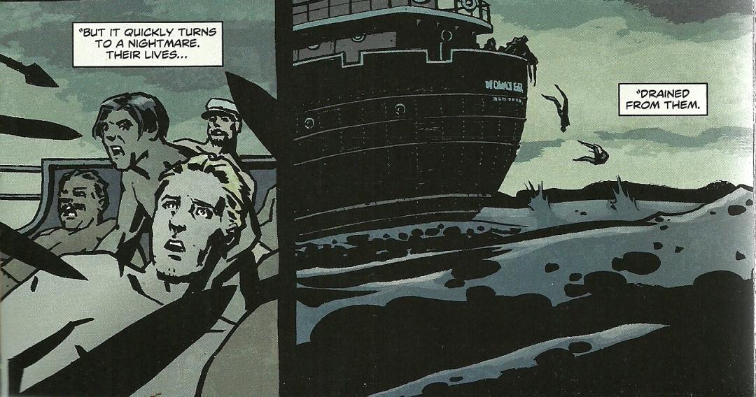 Wonder Woman #7 - Amazons dispose of their mates