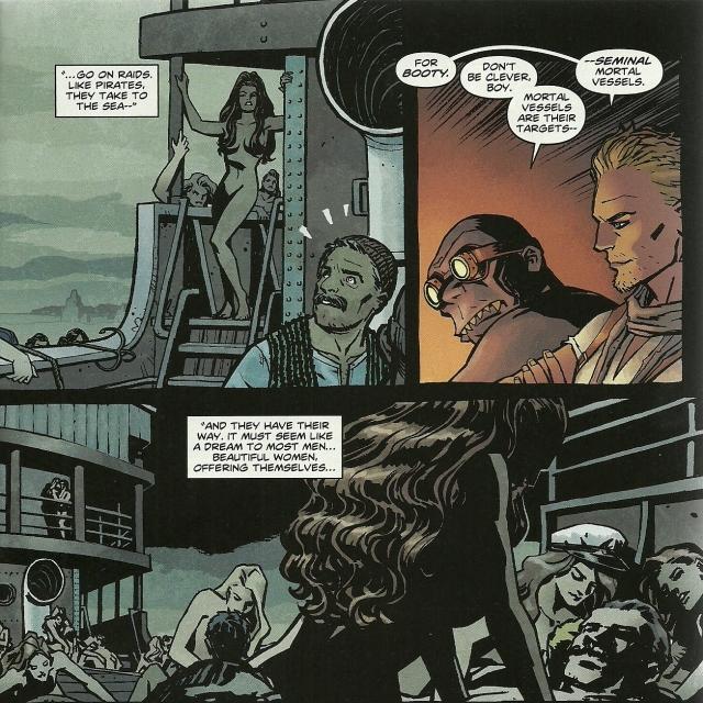 Wonder Woman #7 - Amazons Procreate