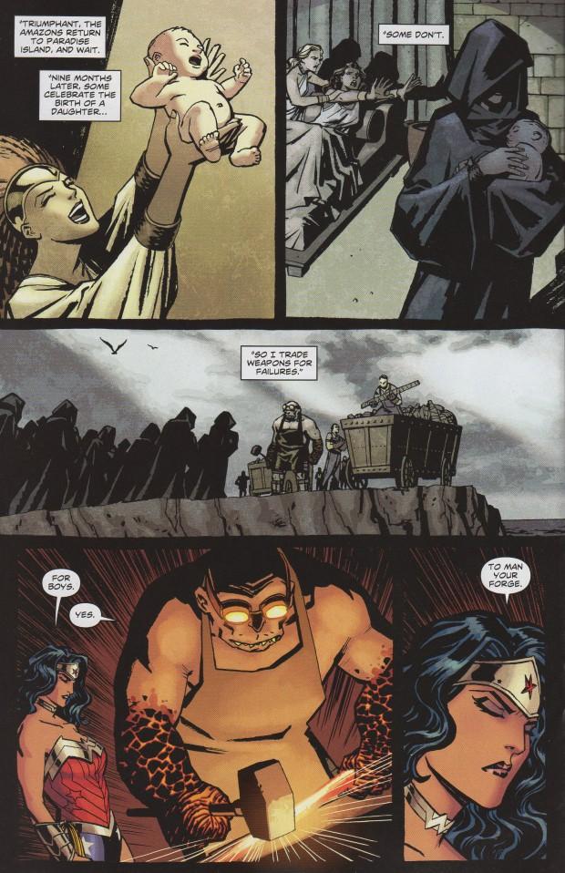 Wonder Woman #7 - Sons as slaves