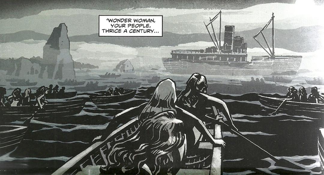 Wonder Woman #7 - Thrice a century