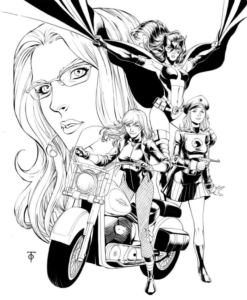 Birds of Prey by Marcus To