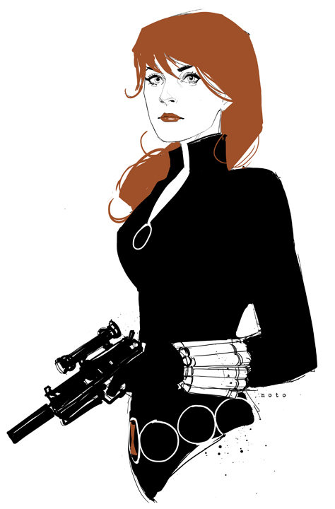 Black Widow by Phil Noto