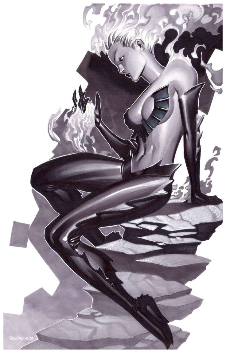 Dark Phoenix by Chris Stevens