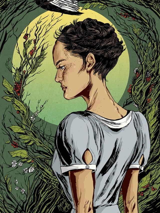 Katniss Everdeen by Ming Doyle