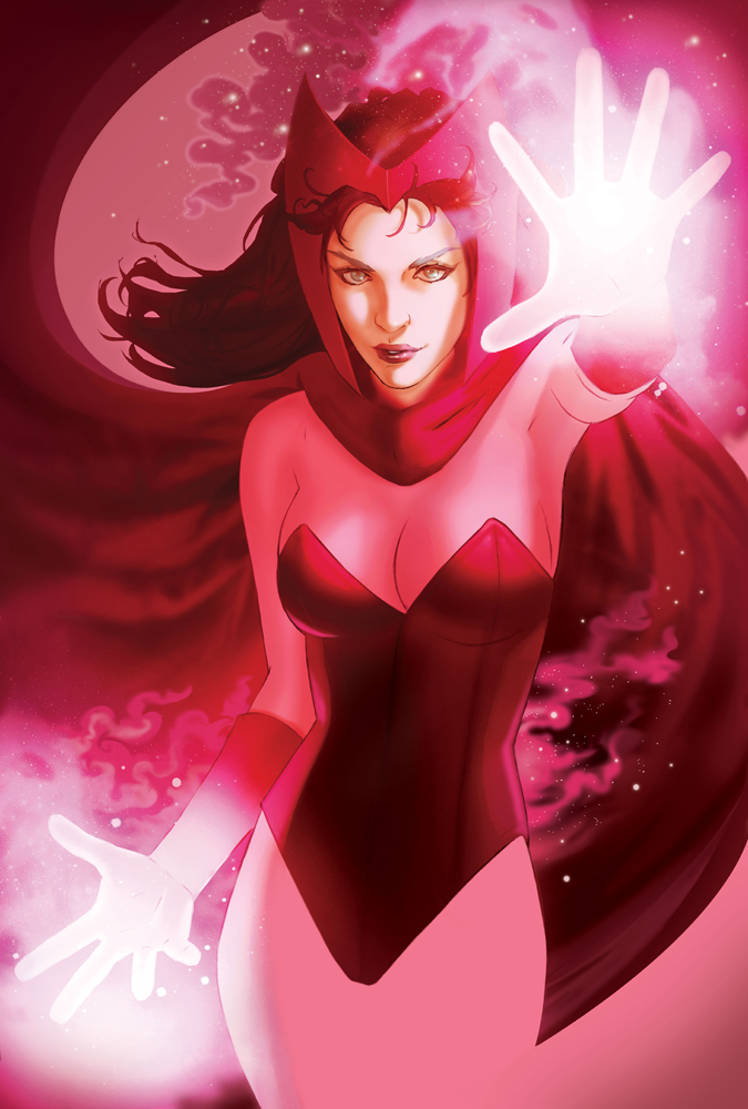 Scarlet Witch by Scott Forbes