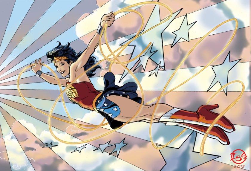 Wonder Woman Redux by Jamal Igle
