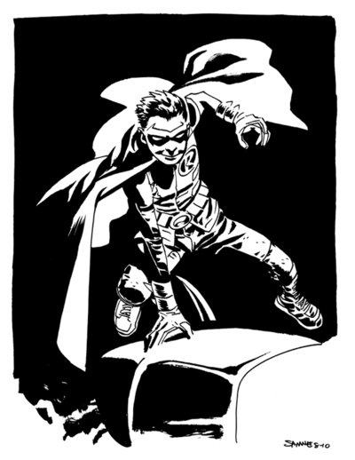 Damian by Chris Samnee